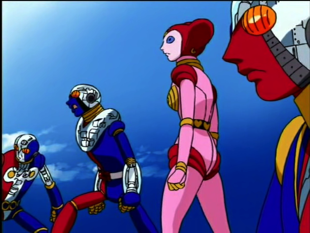 Kikaider 01: The Animation