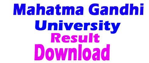 Mahatma Gandhi University Nalgonda Logo Click Here Result Link 1