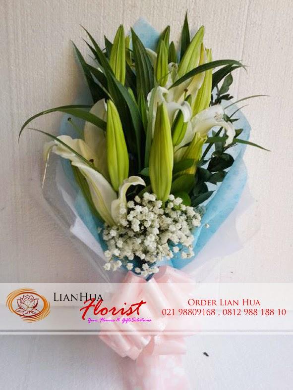 karangan bunga di hari valentine, bunga lily untuk valentine, toko bunga mawar valentine,