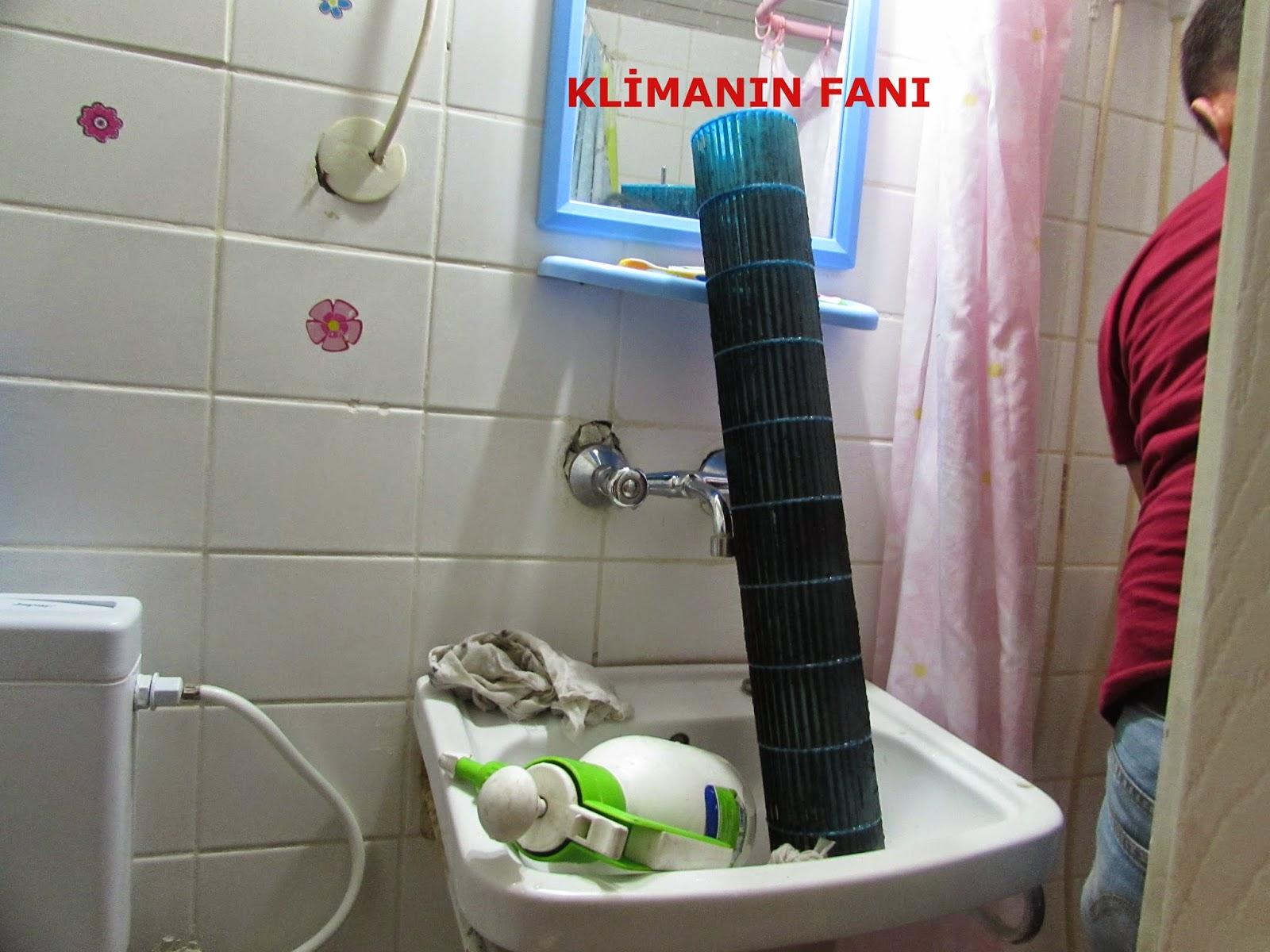 klima fan temizliği