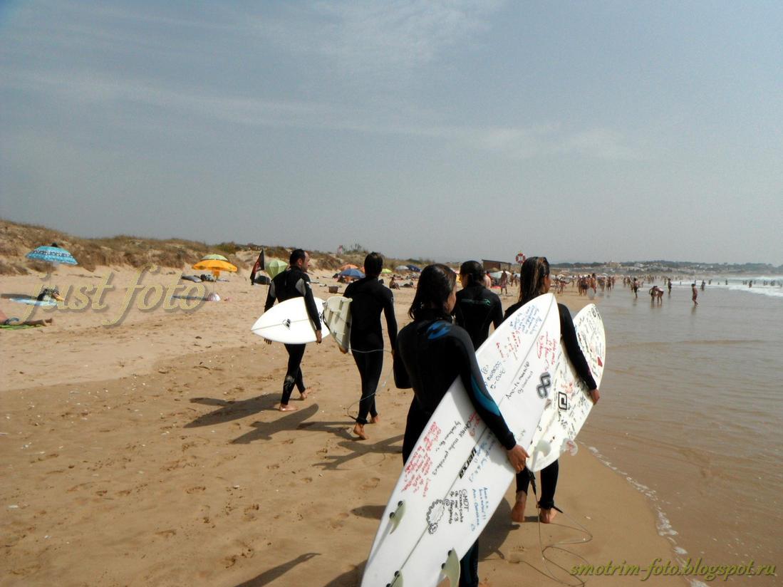 Серфинг в Алгарве фото