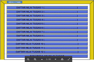 Download Aplikasi Peneilain Hasil pembelajran Format Excel 2015