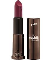 p2 Neuprodukte August 2015 - full color lipstick 050 - www.annitschkasblog.de