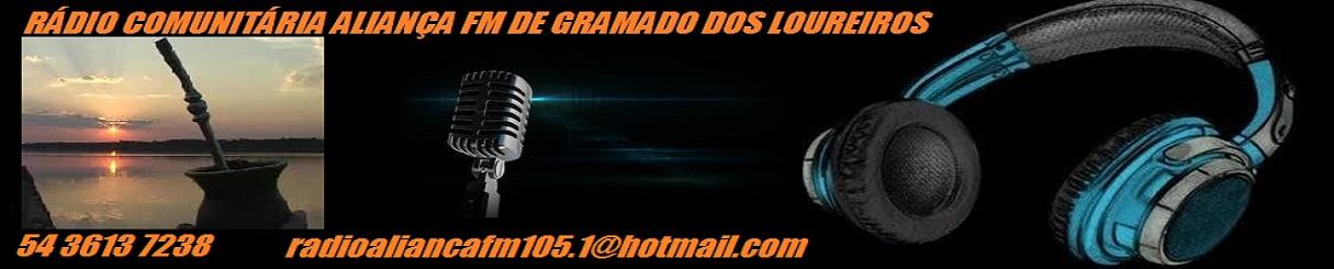 RÁDIO COMUNITÁRIA ALIANÇA FM DE GRAMADO DOS LOUREIROS