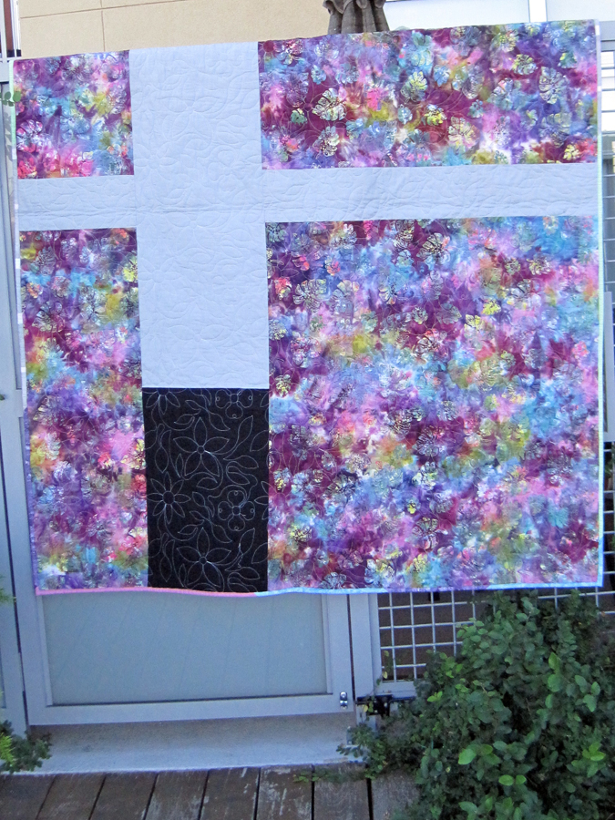 Austin modern quilt guild charity quilts for ronald for Modern house quilts