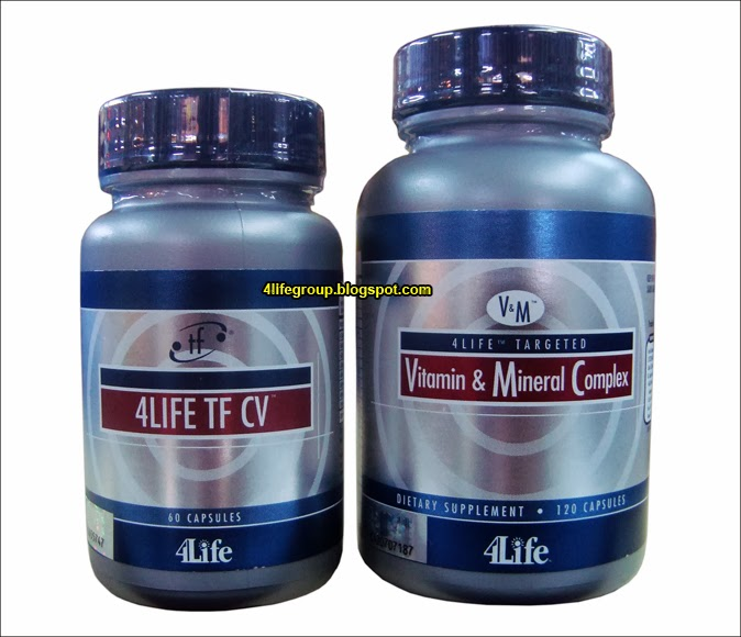foto 4Life Transfer Factor CV + 4Life Targeted Vitamin & Mineral Complex