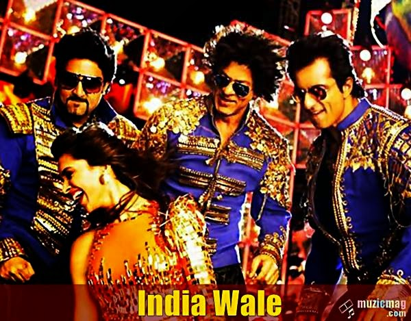 india wale lyrics video happy new year shahrukh khan deepika padukone