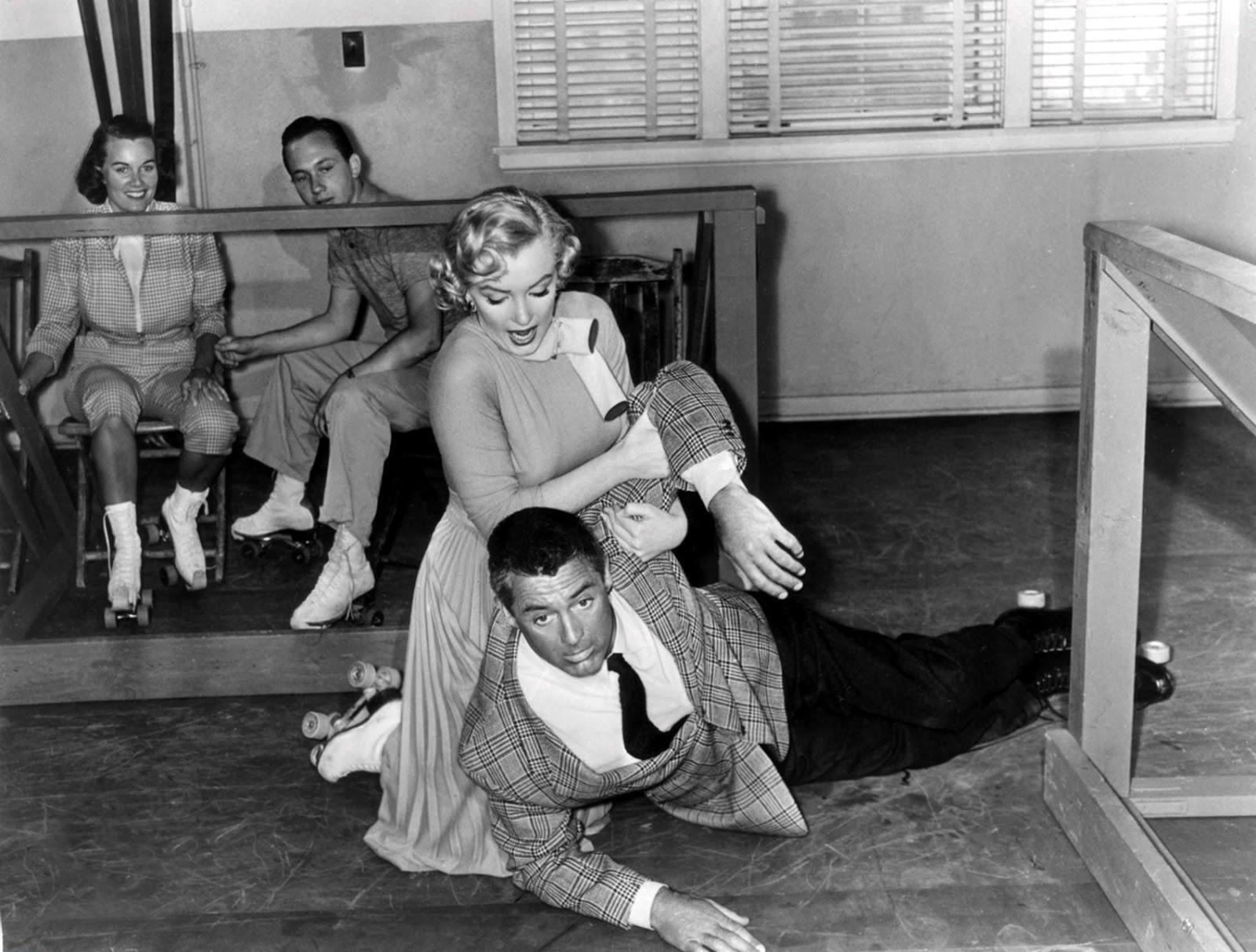 Crime Scene Photos Of Marilyn Monroe Marilyn monroe and cary grant