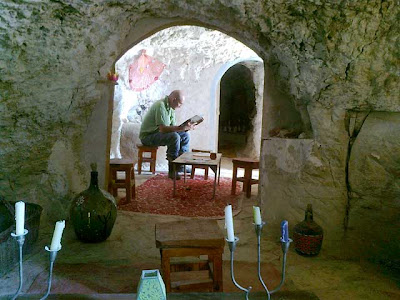 Las casas cueva de las minas de Riodeva