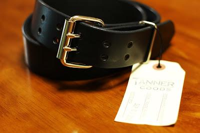 Tanner Goods Double Pin Standard Belt