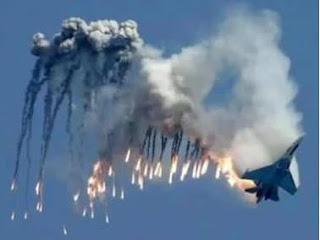pesawat jet rusia di rudal turki