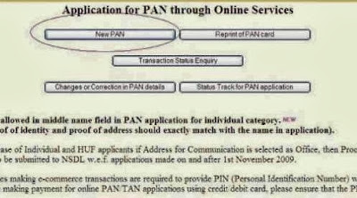 How to Apply Online For PAN Card, Easy Steps