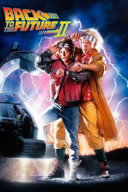 Ritorno al Futuro parte II poster recensione