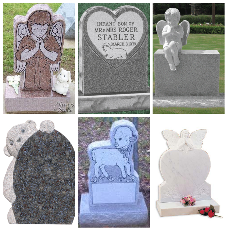 Rose and Her Lily: Designing Your Baby\'s Headstone - Some Ideas ...