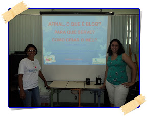 Oficina de Blogs 2ªCRE 03/05/2012