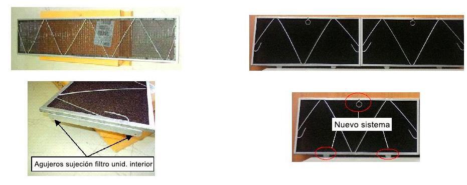 Nuevos filtros para aires acondicionados por conductos for Maquina aire acondicionado por conductos