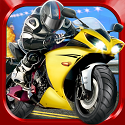 3D Motor-Bike Drag Race - Real Driving Simulator Racing Game App iTunes App Icon Logo By Cool Fun Racing Games - FreeApps.ws