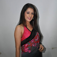 Samiksha in designer saree