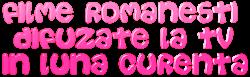 Acest blog recomanda filmele romanesti!
