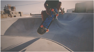 skate slow motion 4000fps