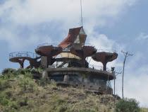 Futuristic Ben Abeba Scottish & Ethiopian Restaurant, Lalibela