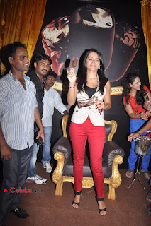 Trisha Latest Pictures in Red Jeans at Magnum Ice Cream New Outlet Launches at Express Avenue Mall, Chennai  0013