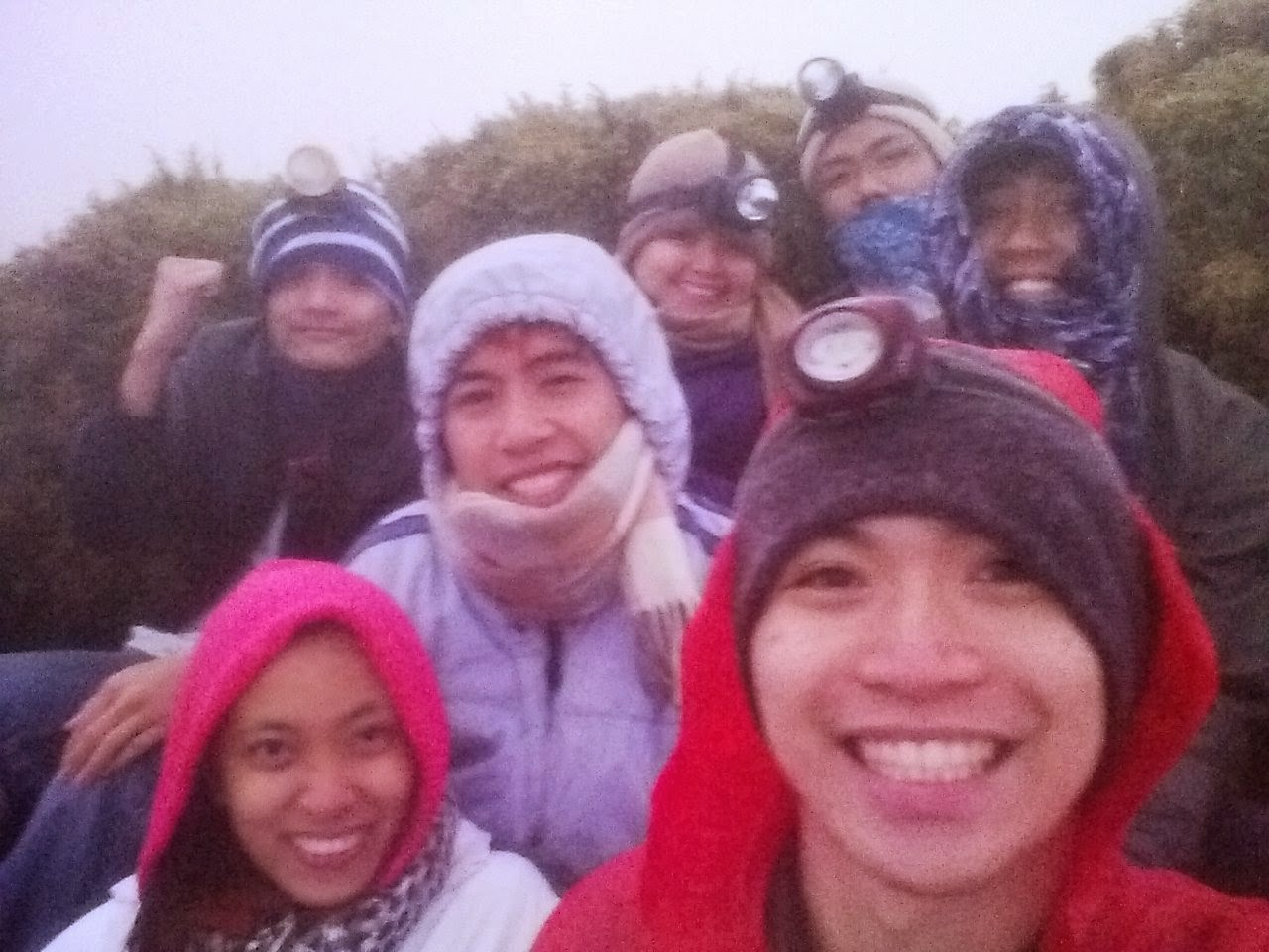 Summit of Mt. Pulag
