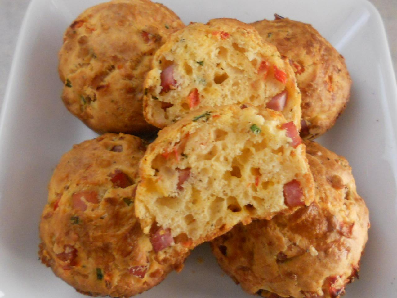 Ham & Cheese Buttermilk Breakfast Muffins | The Brunette Baker