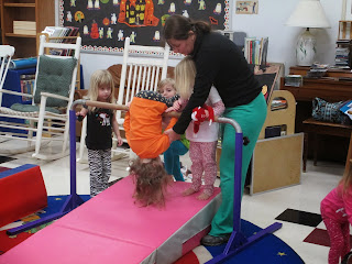 gymnastics at the Pa-Paw Patch