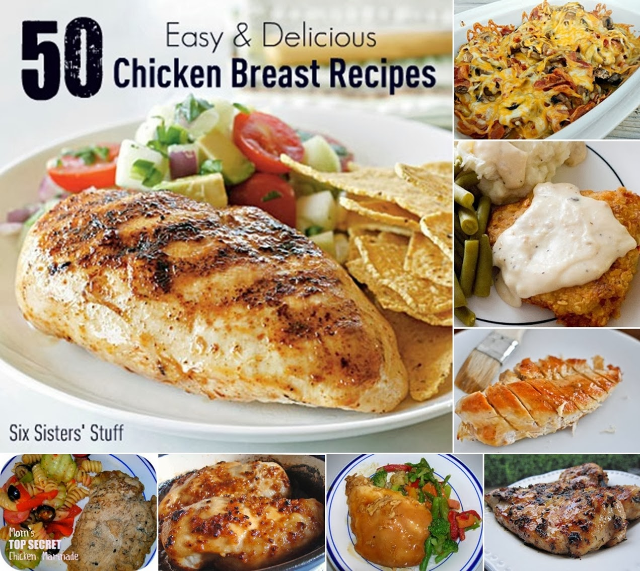 50 Easy and Delicious Chicken Breast Recipes - DIY Craft Projects