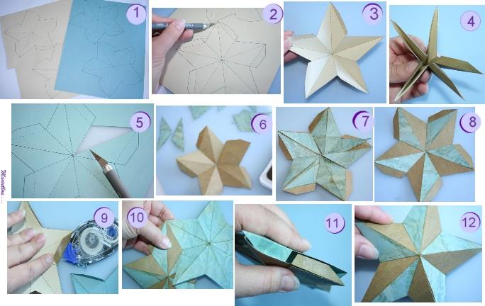 Faire Une étoile En Origami