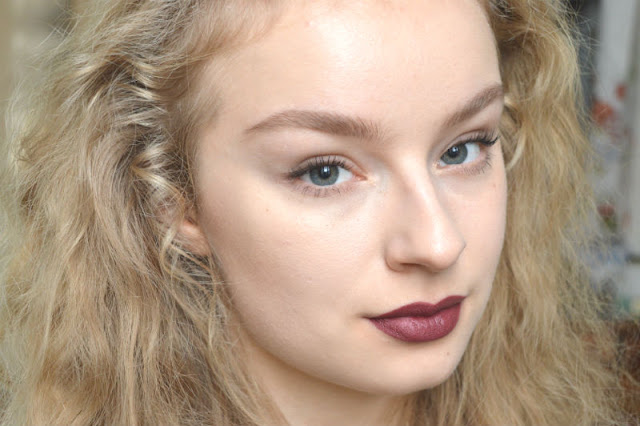 Nicolet Beauty lipstick Yorba Linda swatch