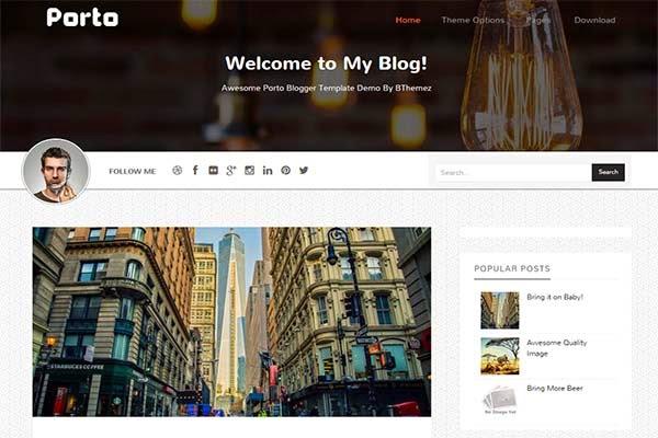 porto-free-blogger-templates