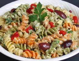 Weight Loss Recipes : Rotini with Steamed Vegetables