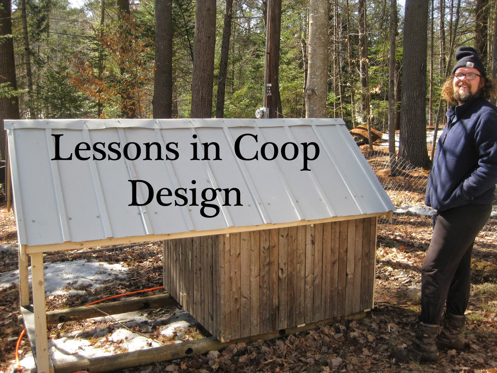 Lessons in Coop Design: What Worked For Us