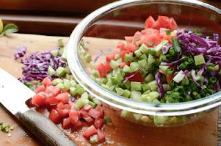 Lentil Salad Recipe (Salad Đậu Lăng) 2