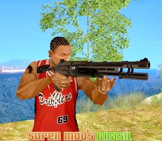 [Mod GTA SA] Shotgun Crysis Warhead 1
