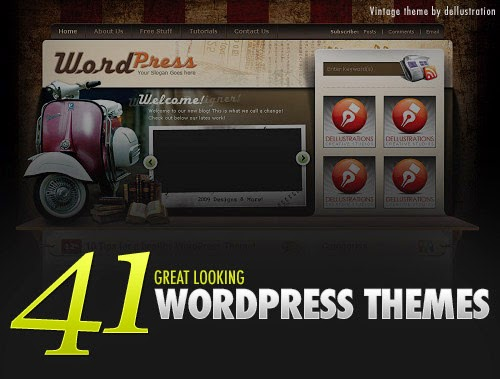 41 melhores temas Wordpress Livre Licença