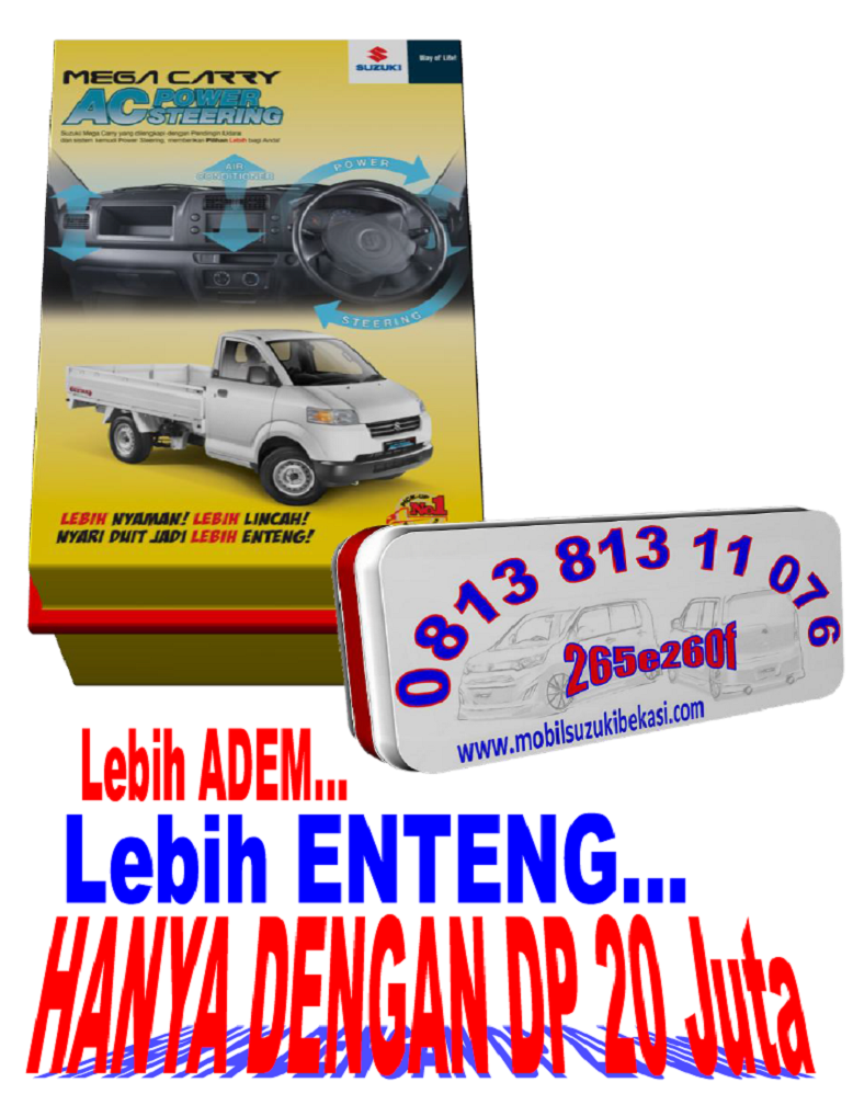 Promo Suzuki Mega Carry AC+PS