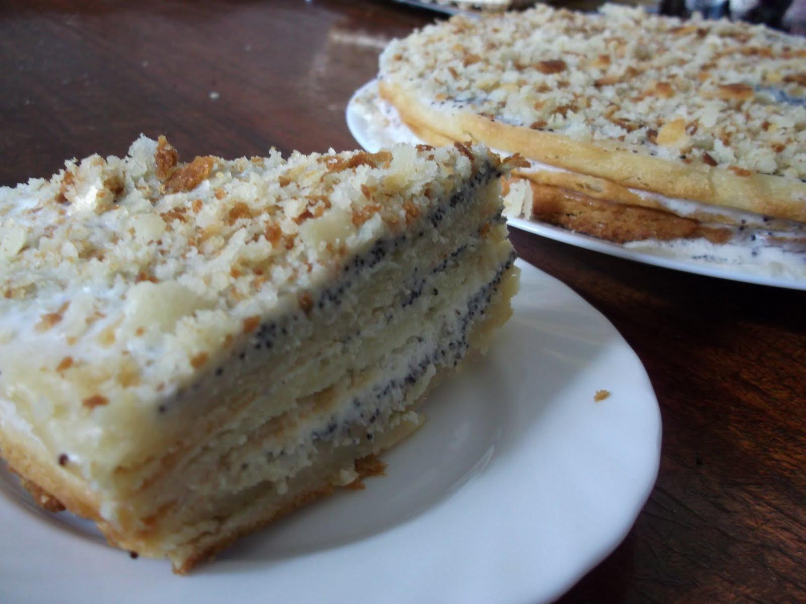 Рецепт сметанного торта в домашних условиях