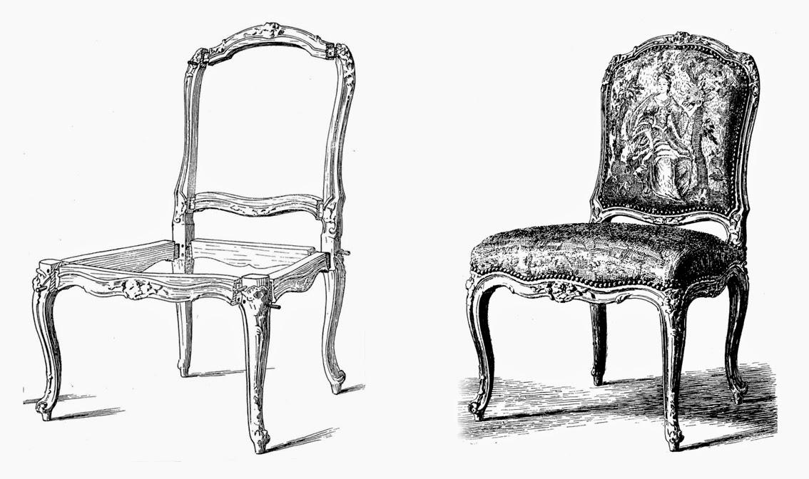 Tapicer a carrasco asturias sillones luis xv rococ for Sillas para quince