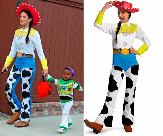 Sandra Bullock disfraz Jessie Toy Story y, disfraz Jessie Toy Story
