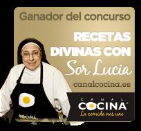 Ganadora del concurso Recetas divinas con sor Lucía de Canal Cocina