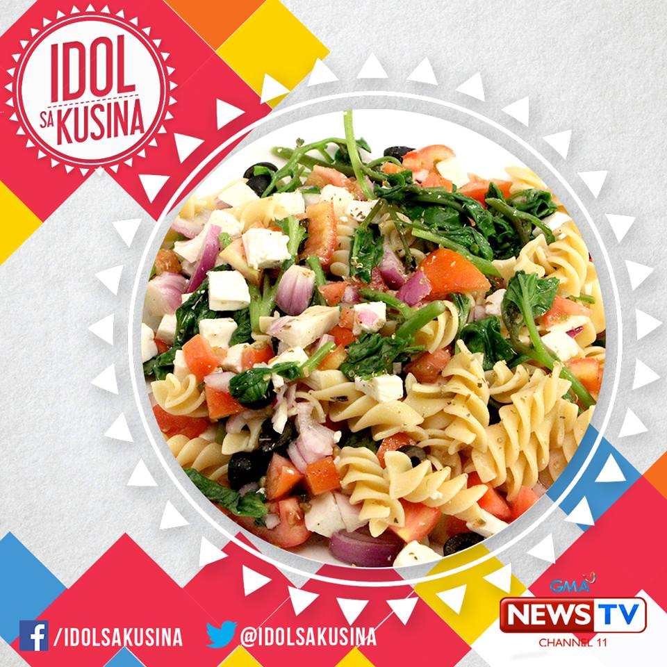 How To Make Greek Style Cold Pasta Salad Pskmc