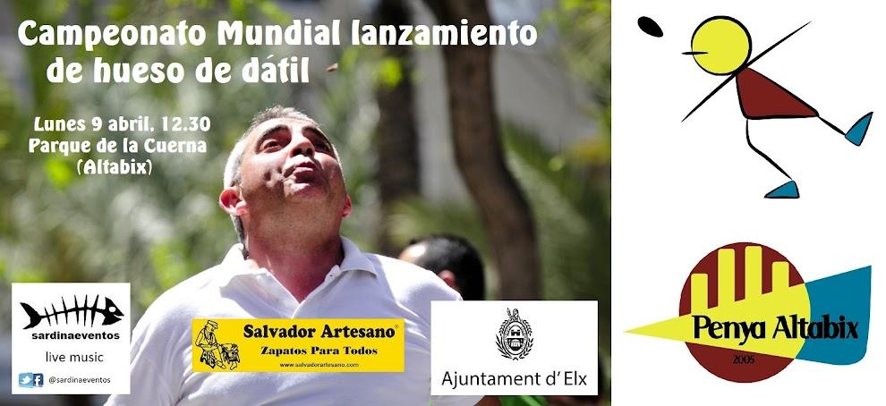 CAMPEONATO MUNDIAL LANZAMIENTO DE HUESO DE DÁTIL