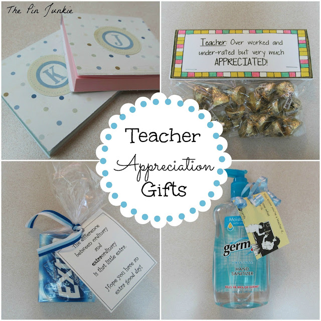 Easy Teacher Appreciation Gifts