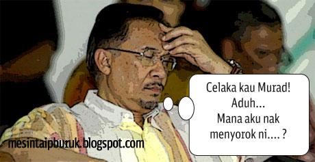 Akuan bersumpah Murad buat Anwar jadi sesumpah