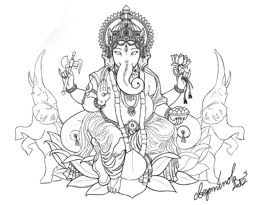 Ganesha Definitivo Jpg 840 215 677 Tattos Per Fer Se