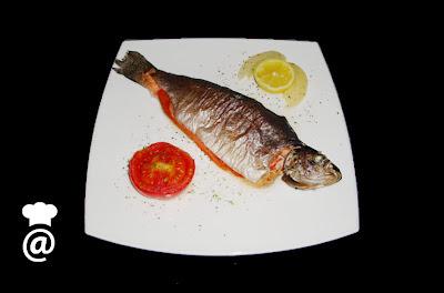 Recetas Dieta Trucha Asalmonada con Jamón