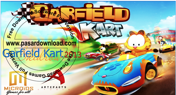 Download Games Garfield Kart 2014 Full Repack